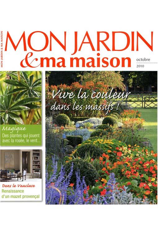 ma maison mon jardin top le nouveau jardin la franaise. Black Bedroom Furniture Sets. Home Design Ideas