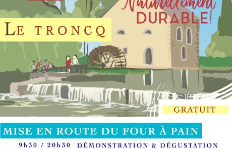 Affiche personnalisée JPPM Le Troncq + eglise A4 A3