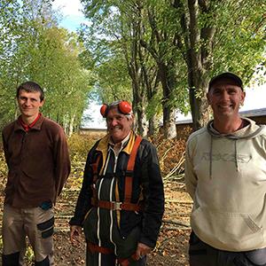 Jérôme, Emmanuel et Christophe