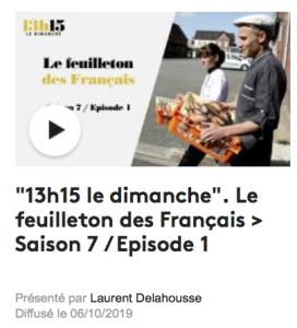 France 2 - Le feuilleton des français - Saison 7 - épisode 2 - A&L sortie de leur boulangerie