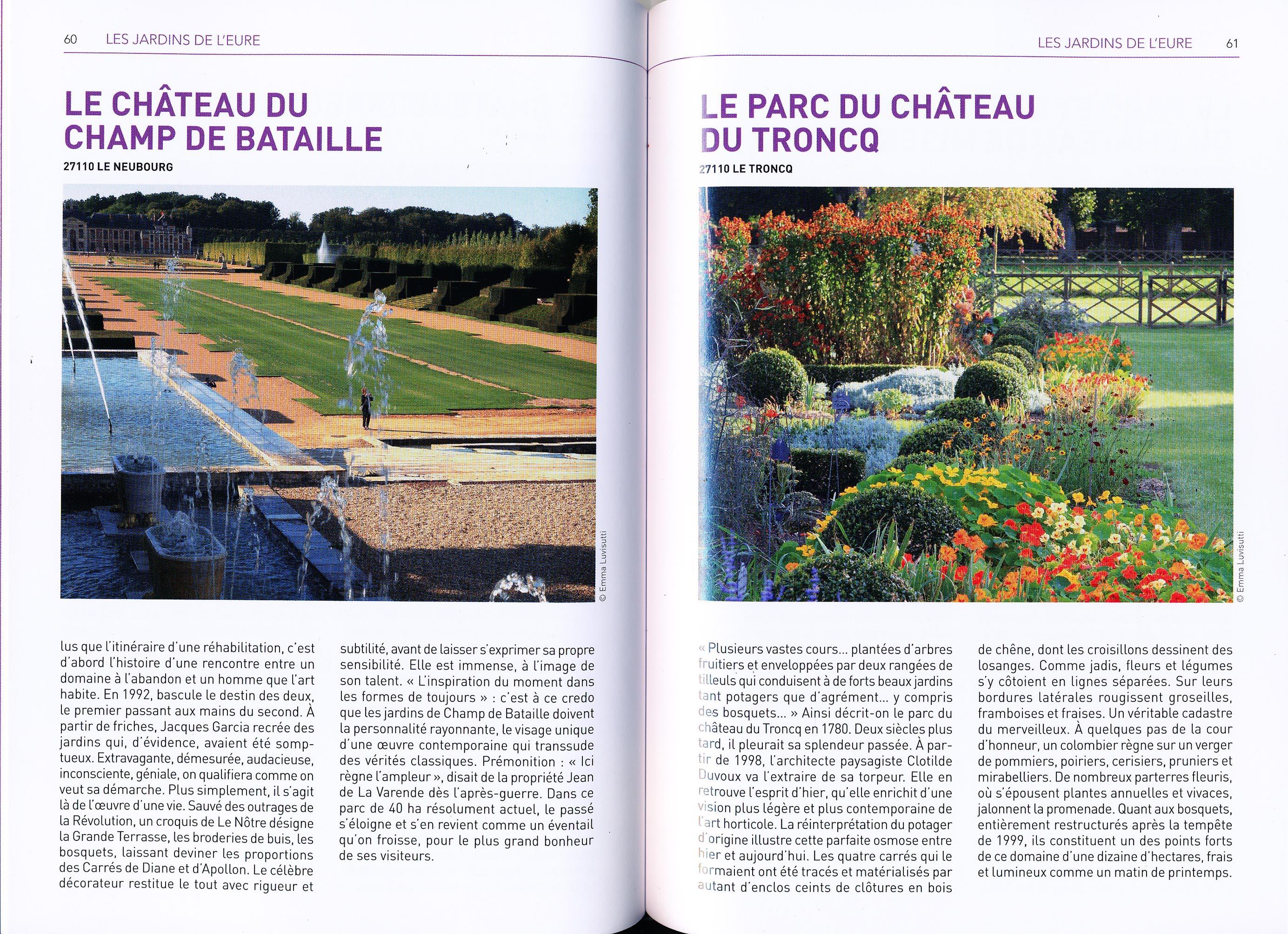 100 Clés - P&J de Normandie - Dble page Le Troncq - Champ de Bataille