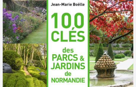 100 clés - Parcs et JArdins de Normandie - Couverture